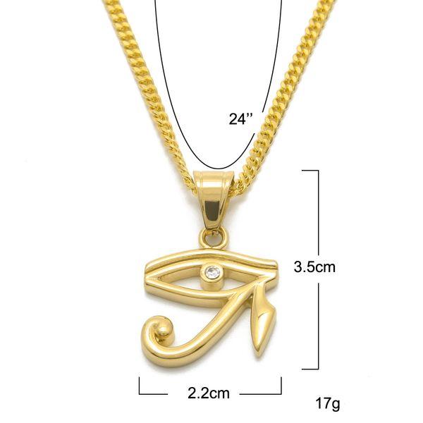 Deep engrave design eye of horus egyptian sun god symbol pendant deep engrave design eye of horus egyptian sun god symbol pendant necklace horus eye necklaces punk style jewelry for women and men nl025g aloadofball Choice Image