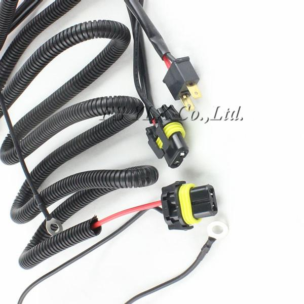 35W/55W Xenon HID Relay Wiring Harness H1 H8 H9 H11 9005 9006 9140 on
