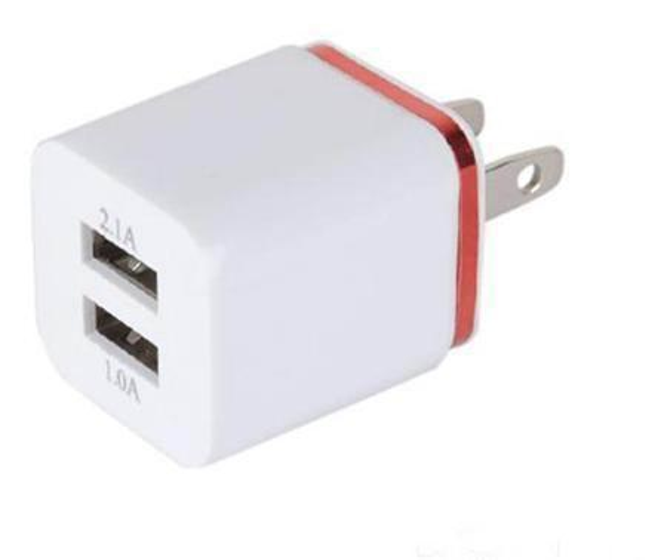 Nuovo arrivo US Plug 5V 2A Dual USB adattatore caricatore della parete 2 Port Adapter Caricabatteria per iPhone 6 55s ipad HTC Samsung