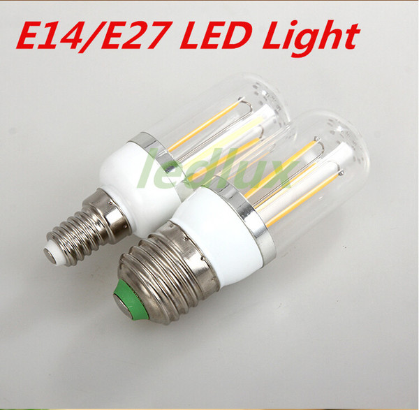 G9\E27\E14 6W led lamps light 220V 110V Corn Bulb SpotLight Candle crystal chandelier home lighting Free shipping