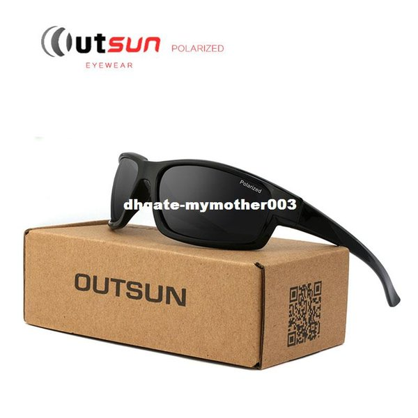 OUTSUN 2017 Hot Fashion Out Door Sonnenbrille HD Polarisierte Sonnenbrille Männer Markendesigner Original Oculos De Sol Masculino