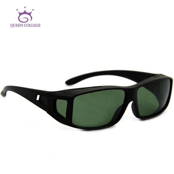 Gros-Queen College Livraison gratuite Suncover Myopie Lentilles polarisées lunettes de soleil hommes marque lunettes de soleil polaroid vintage 10pcs / lot QC0222