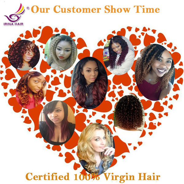 2 tone 100 Unprocessed human hair 1b burgundy brazilian virgin hair body wave wet and wavy red ombre 4 bundles multi colored hair extensions