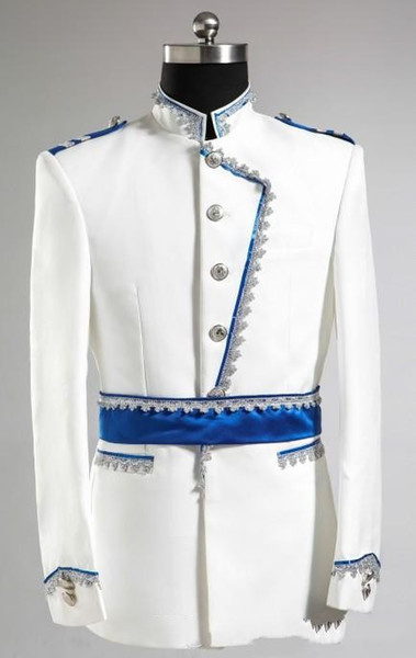 2015 - Nuevo diseño Novio Tuxedos Traje de boda para hombres Diseñadores Tailored Prom Suit Novio Blazer Novio (chaqueta + pantalones) 363