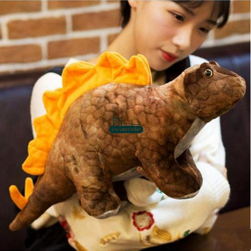 70cm Brown Triceratops
