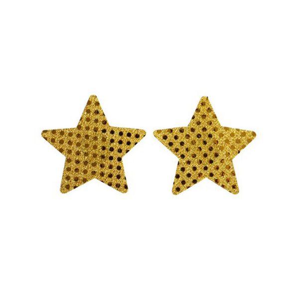 Frauen-Kleidung Stern-Brust-Blumenblatt-reizvolle Büstenhalter-Auflage-klebende Nippel-Abdeckung Wegwerf die Kasten-Paste verkörpert Sommer-Art 400pcs = 200pairs