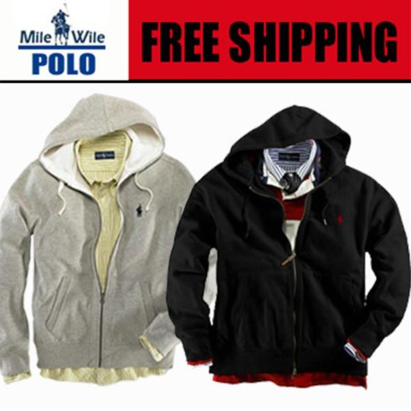 a8545ff5c2ff22 Wholesale-Free delivery 2015 Men's Zipper cardigan Sport hooded hoodies  Fashion Coats Jacket Sportswear sweatshirts