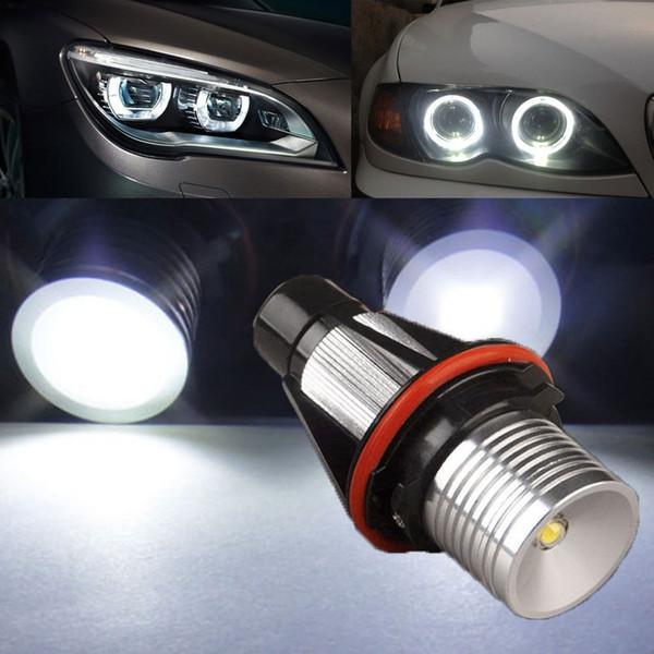1 компл. светодиодные автомобильные лампы глаза ангела Halo кольцо высокой мощности 3 Вт DC 9 в-30 в Белый 7000 к светодиодные лампы для BMW E39 E53 E60 E63 E65 E66 E78