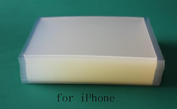 300 STÜCKE 250um Dicken OCA Optical Clear Adhesive Kleber Aufkleber für iPhone 5 5 s 6 7 8 Plus X LCD Touchscreen Außenglas