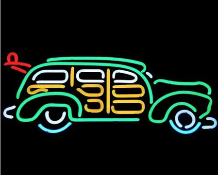 9cdbc16d2d202d 2019 Classic Car Neon Sign Custom Hand Crafted Real Glass Tube Store ...