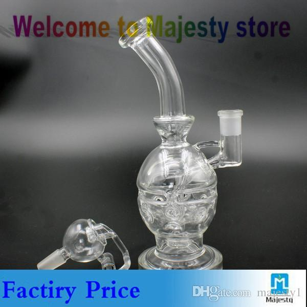 stylish Hookahs glass water pipe glass bong recycler bong water pipe 14mm Female Joint find Hookahs review Hookahs online