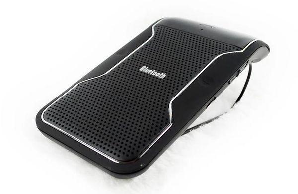 Nuovo kit vivavoce per auto Bluetooth senza fili Vivavoce per vivavoce Vivavoce per auto Bluetooth senza mani Kit + Caricabatterie per auto