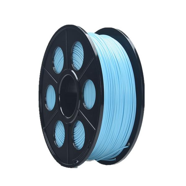 Black Spoo ltransparent Blue Color 1.75mm Flexible 3D Printing Filament Wholesale
