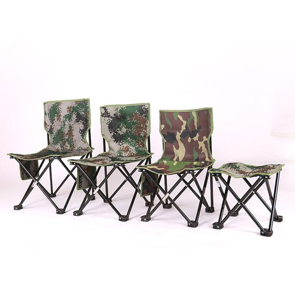 Astonishing 2019 New Outdoor Fishing Folding Chair Portable Metal Four Corner Fishing Stool Fishing Accessories Camouflage Folding Chairs For Sale From Unemploymentrelief Wooden Chair Designs For Living Room Unemploymentrelieforg