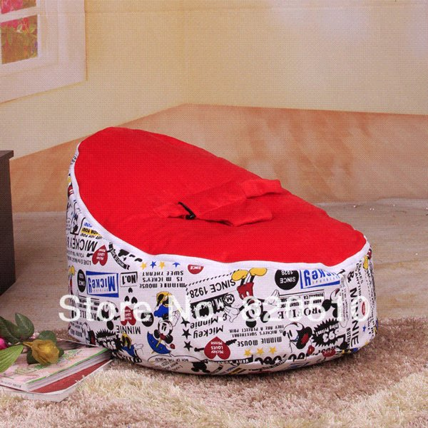 New Arrived Bestselling Baby Bean Bag Chair Cover And Bed For Infants Toddlers Kids
