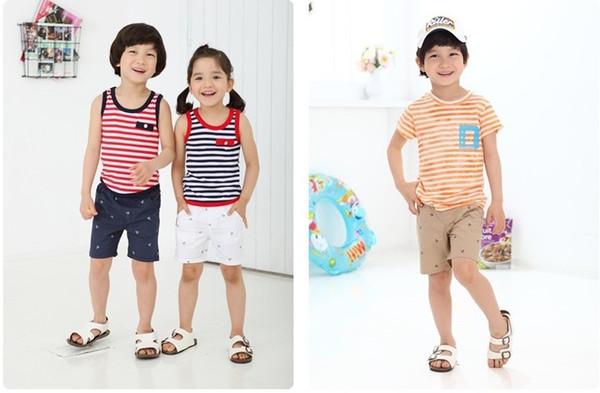 NEUE FRÜHLING Baby Shorts Jungen Mädchen Anchor Printed Short Hosen Navy Brown Weiß Kinder Sommer Kurze Hosen