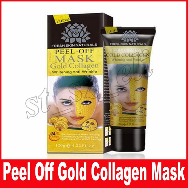 Peel Off Gold Collagen Facial Mask Face Mask Crystal Gold Powder Collagen Facial Mask Skin Care 120ML