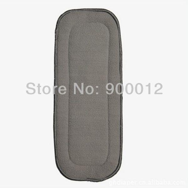 Charcoal Bamboo Inserts 350 pcs 5 layers(3+2) Washable Reuseable Charcoal bamboo Inserts Baby Cloth Diaper Nappy Inserts