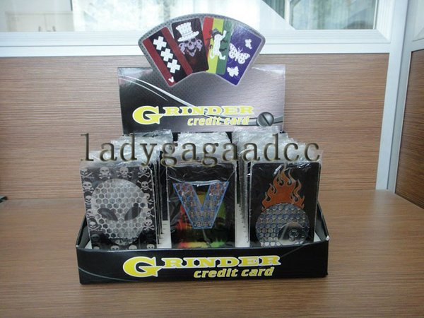 Low price Fashion stainless steel Credit Card Grinder Many Designs Grinder Machine