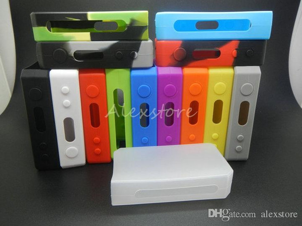 Silicone Case Silicon Cases 14 Colors Rubber Box Sleeve protective cover Skin For ipv3 li 165watt ipv 3 li 165W ipv 3li Mod