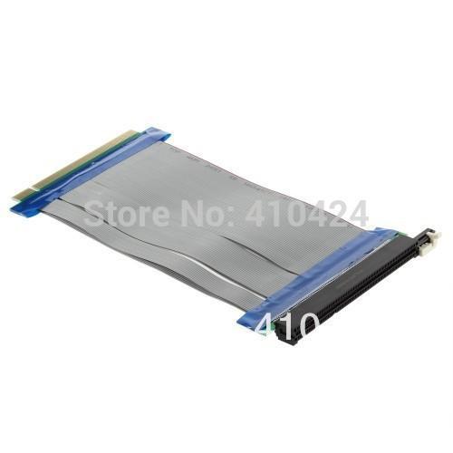 10pcs/lot Of 3x PCI-E 16x to 16x Molex Powered Riser Cable Extend order<$18no track