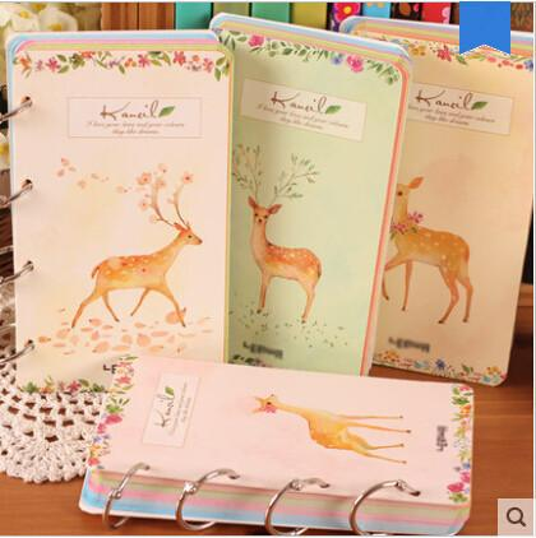 Animal Print Coil Spiral Diary Cute Planner Kawaii Pocket Journal Notebook Korean Style Agenda Notepad Memo To Do List Gift