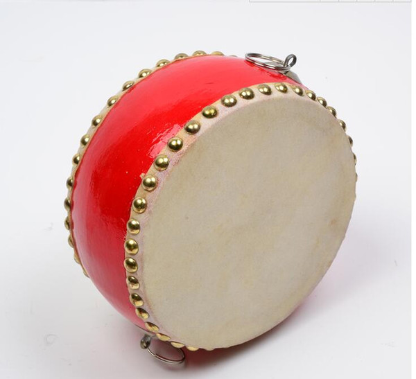 top popular New Chinese Drum Kids Toy Gift Early Education Music Percussion Instrument 2021