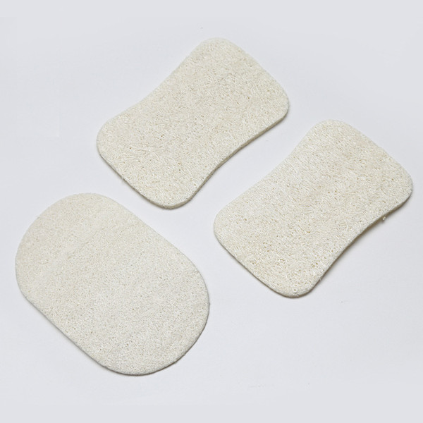 top popular Natural Loofah Dish Brush Loofah Pad Face Makeup Remove Exfoliating and Dead Skin Bath Shower Loofah for Home Tools 2019