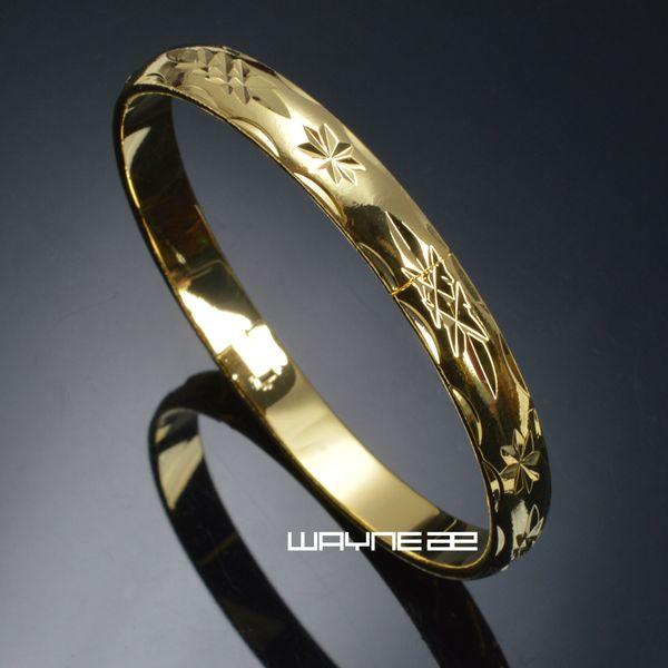 Bracelet jonc de mariage sculpté G130 Dia. 57mm