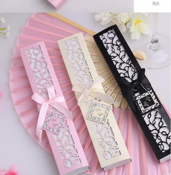 Free shipping to brazil personalized Silk Folding hand Fans for wedding bridal shower favors giveaways wholesales