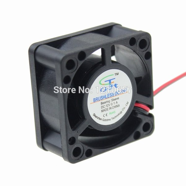 Wholesale- 3 Pieces LOT 4020 40x40x20mm 40mm 12V 2P DC Brushless Cooling Motor Fan