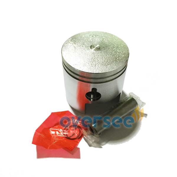 Chinese Oversee 350-00004-1 Piston Set 050 for fitting Tohatsu/Nissan 18HP Outboard Spare Engine Parts Model