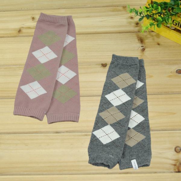 baby girl boy cool rhombus leg warmers children cotton leg warmers socks adult arm warmer 12pairs/lot