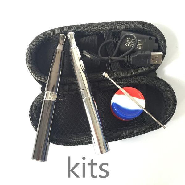 Skillet Vaporizer Puffco pro Portable Upgraded Wax Vaporizer Dry Herb atomizer large Quartz chamber herbal vape pen e cigarettes