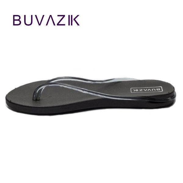 2017 summer women's flip flops thick sandals non-slip beach slippers woman shoes fashion clip feet drag big large size 40 41