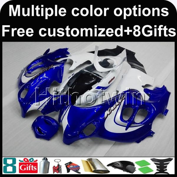 23colors+8Gifts BLUE white Kit motorcycle cowl for Suzuki GSX600F Katana 2003-2006 GSX600F 03 04 05 06 ABS Plastic Fairing