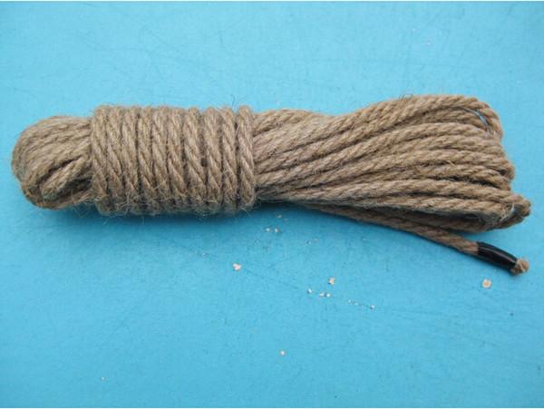 Japanese bondage rope Shibari Kinbaku Bondage Sex Hemp Rope Female Slave Role Restraint Art For Sex Game Toys Free shipping