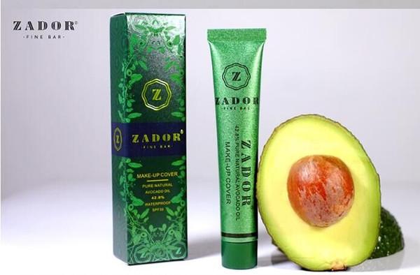 Zador Fine Bar Makeup cover Pure Natural Avocado Oil Professional Face Concealer Makeup Base 13 Colors