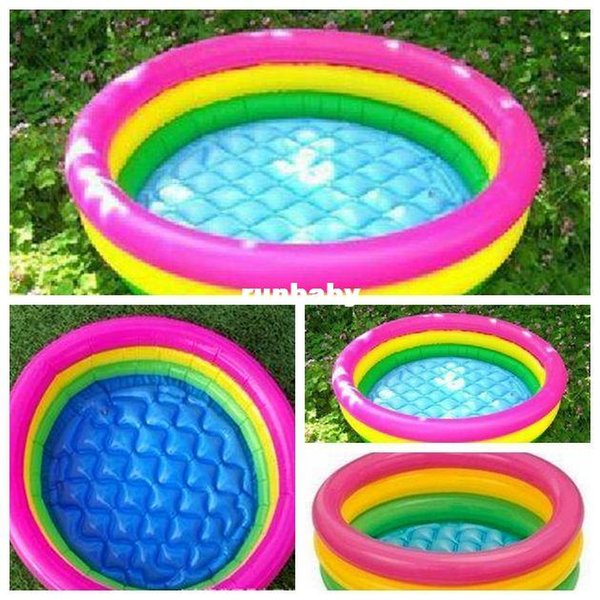 Swim Ring beach Inflatable Swimming Pool for adults and Toddler Baby swim pool piscine inflatable air mattress piscina inflavel