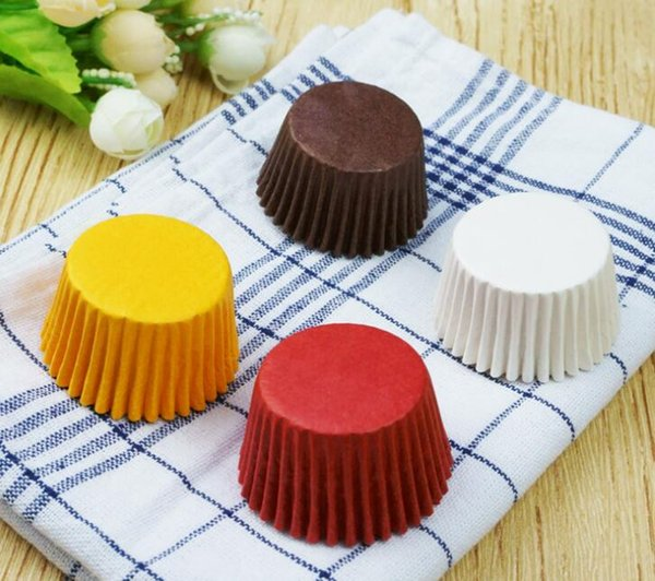 Tazze di carta piccola per la fodera di cottura della muffa della scatola della tazza Caso della torta della torta che decora gli attrezzi