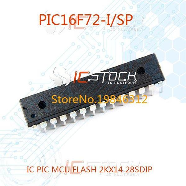 5PC Inline PIC16F72-I//SP DIP-28 8-bit Flash Microcontroller Chip MCU