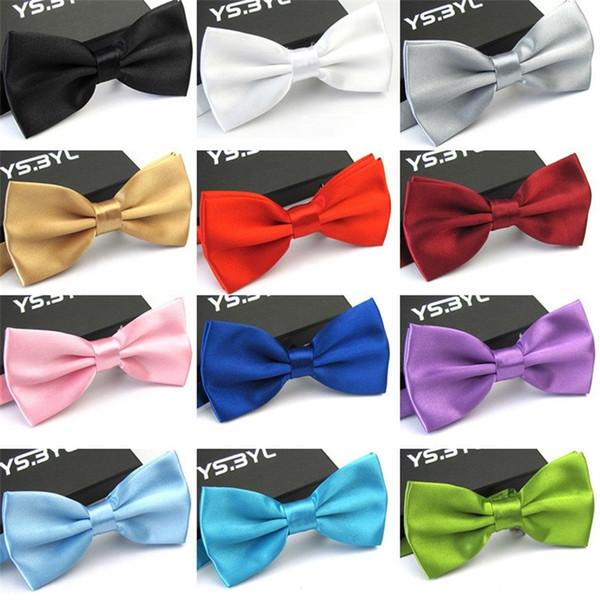 Erkekler Için Papyon Yeni Moda Yetişkin Düğün Parti Bow Tie Çok Renkli Sıcak Satış 1 6 mc C R