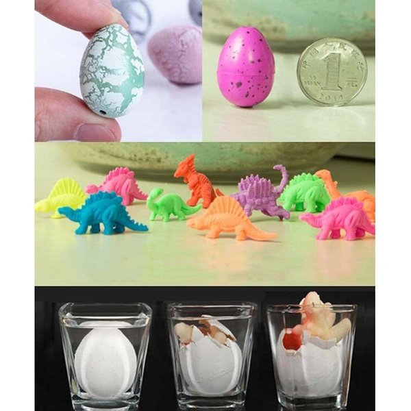 top popular Random color Magic Water Growing Egg Hatching Colorful Dinosaur Add Cracks Grow Eggs Cute Children Kids Toy For Boys 2019