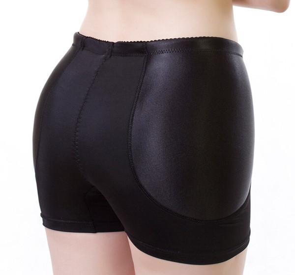 2017 Nouveau Fixe Rembourré Faux Hip Panties Bum Butt Amélioration Sous-Vêtements Boyshorts Traceless Anti Knickers Livraison Gratuite