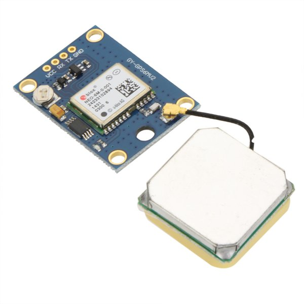 New Ublox NEO-6M GPS Module with EEPROM for MWC AeroQuad with Antenna Flight Control and Multirotor Quadcopter Aircraft order<$18no track