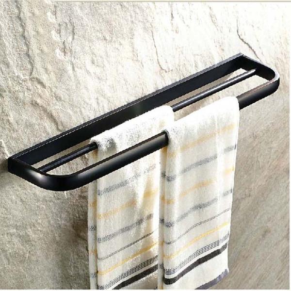 Großhandel Groß Und Einzelhandel Öl Eingerieben Bronze Bad Handtuchhalter  Badezimmer Wand Dual Towerl Rack Bar Von Gonglangno1, $60.31 Auf ...