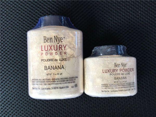 Shipping fa tben nye luxury powder 42g 85g new natural face loo e powder waterproof nutritiou banana brighten dhl free