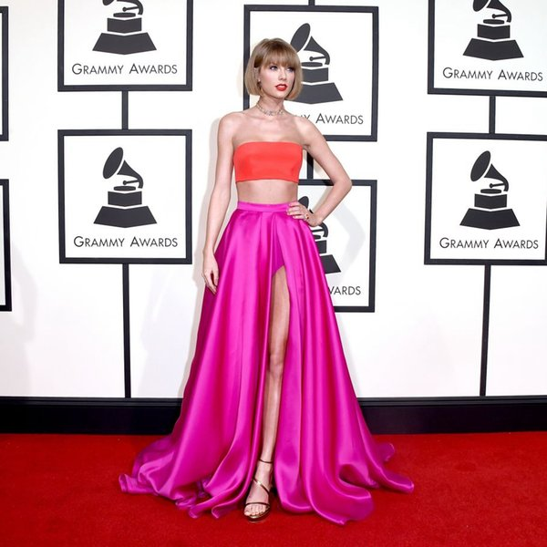 Strapless Split Front Dresses