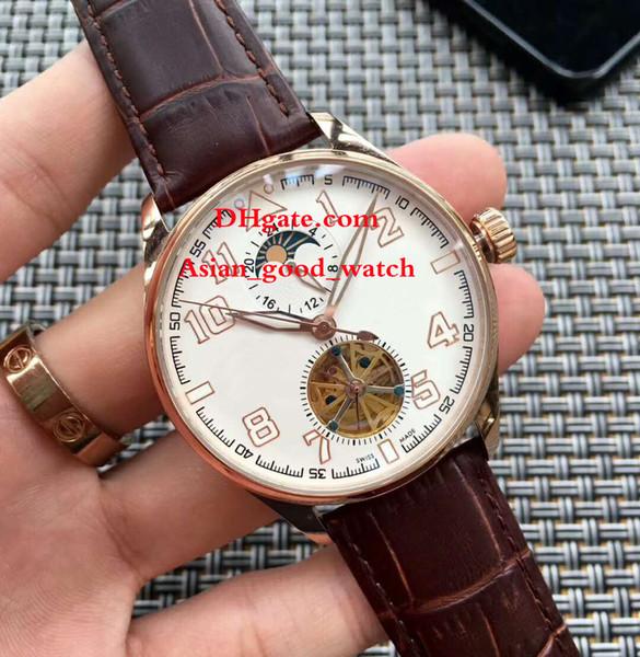 Compre Nuevo 46mm IW502701 Caja De Acero Dial Negro Fecha