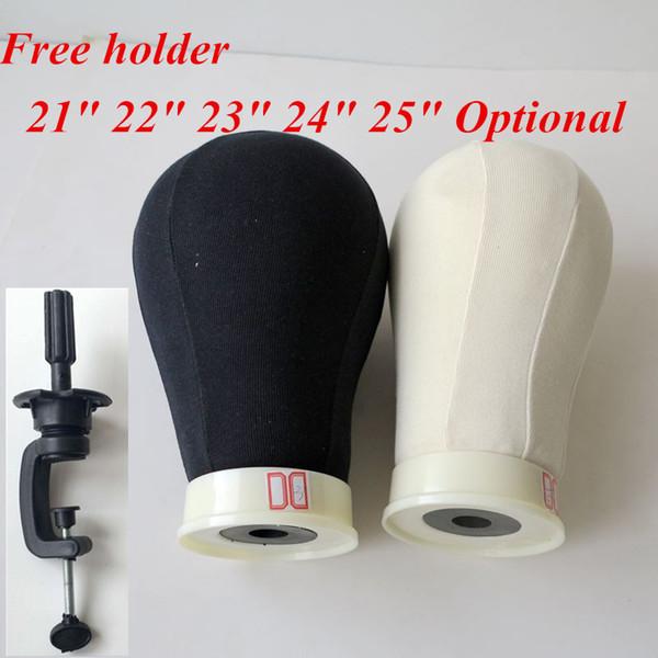 Leinwand-Kopf für Perücke Herstellung von Poly Mannequin Leinwand Foam Block-Kopf 21